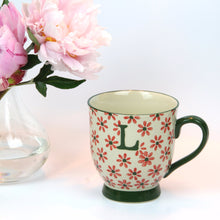 Load image into Gallery viewer, Bohemian Letter 'L' Mug