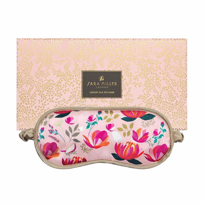 Lotus Flower Silk Eye Mask