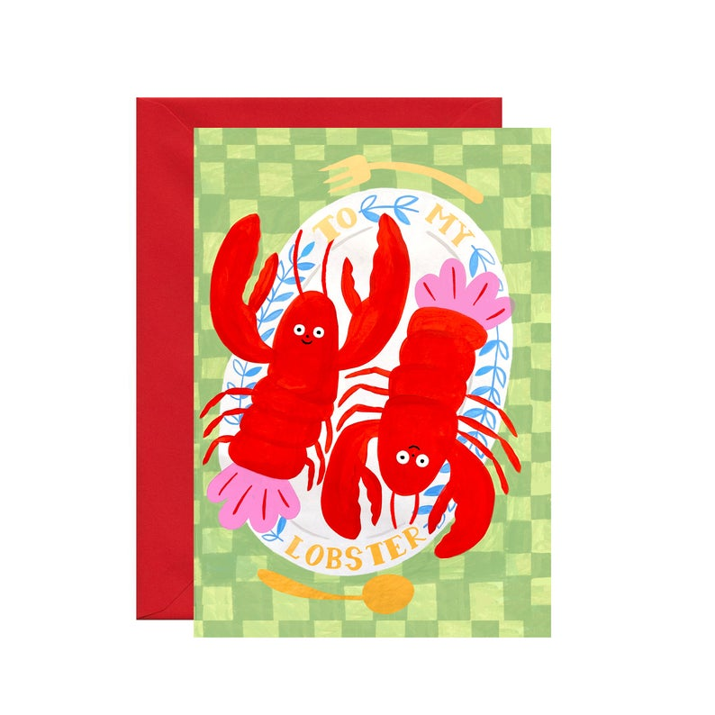 To My Lobster - Gold Foil Card