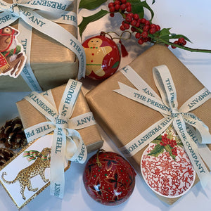Porcelain Bauble Gift Tags - Pack of 4