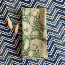 Load image into Gallery viewer, Paisley Napkins Set of 4 - Aqua