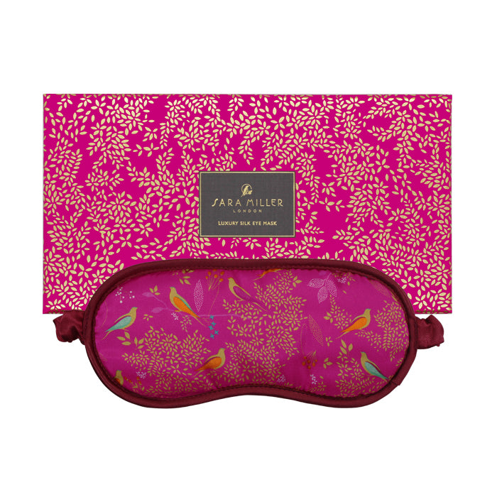 Birds in a Tree Silk Eye Mask