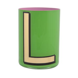 Alphabet Brush Pot - L (Green)