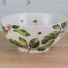 Load image into Gallery viewer, Large Botanical Ceramic Bowl