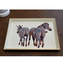 Load image into Gallery viewer, Zebra Vanity Tray