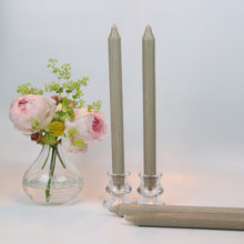 Load image into Gallery viewer, Taupe Candles - Set of Four