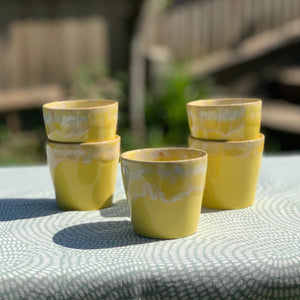 Espresso Cup Yellow