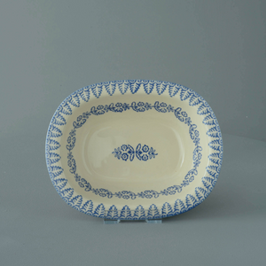 Lacey Blue Pie Dish
