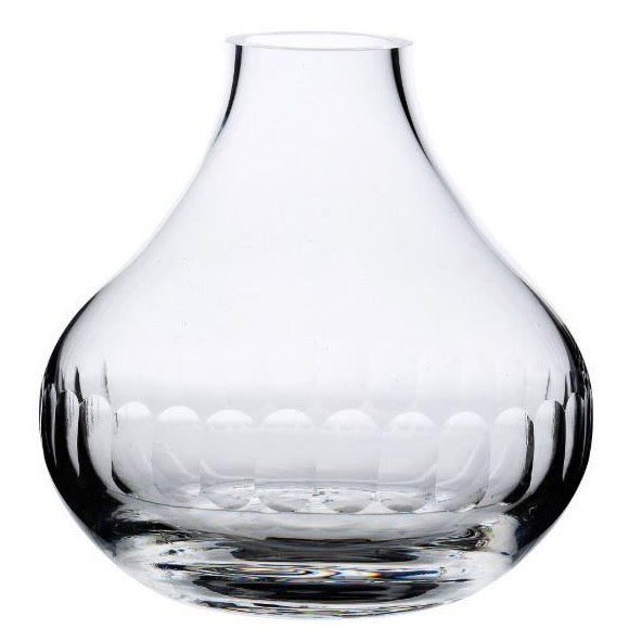 Small Crystal Vase - Lens