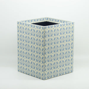 Small Wastepaper Bin - Pale Blue