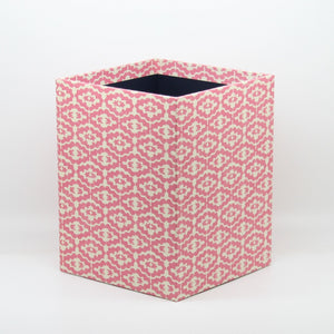Small Wastepaper Bin - Pink Cloud