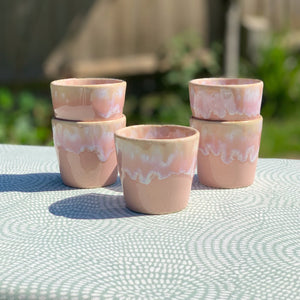Espresso Cup Soft Pink