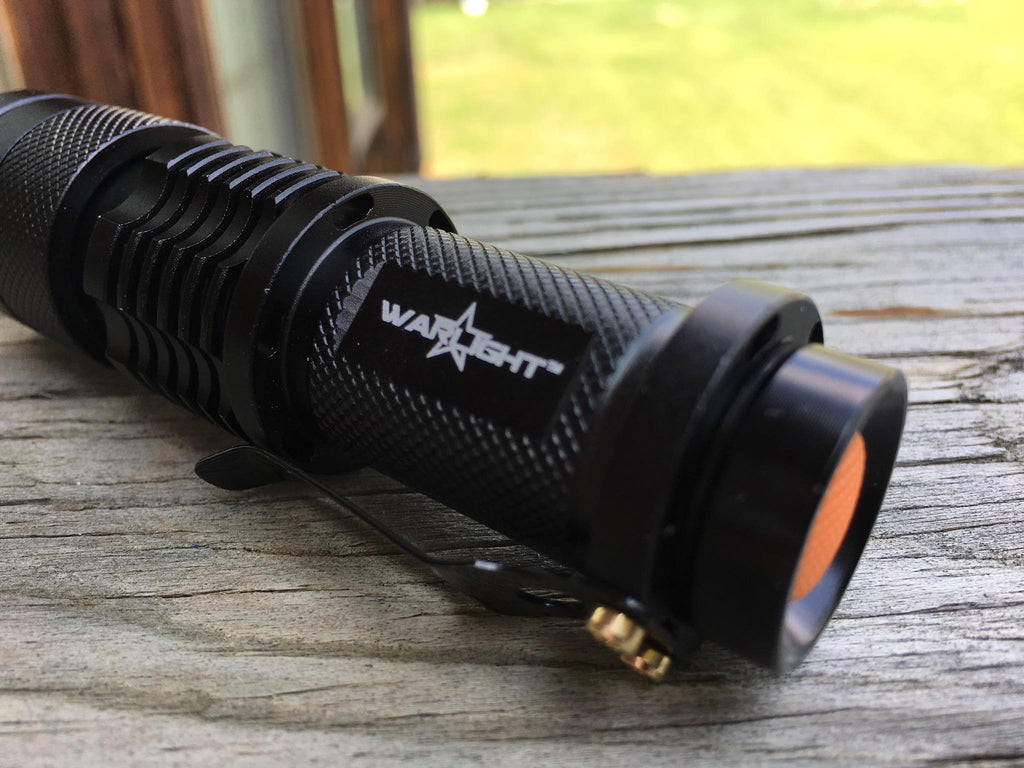 WARLIGHT - 300 lumen LED Flashlight