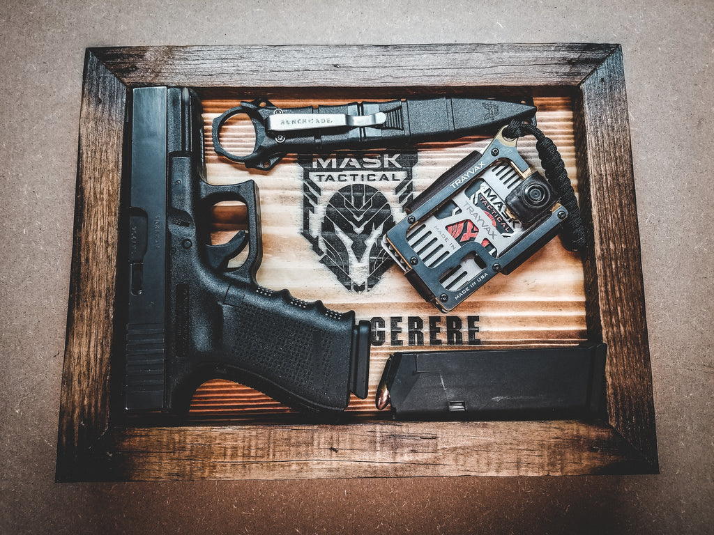 "MASK ""Bellum Gerere"" (Wage War) EDC Tray"