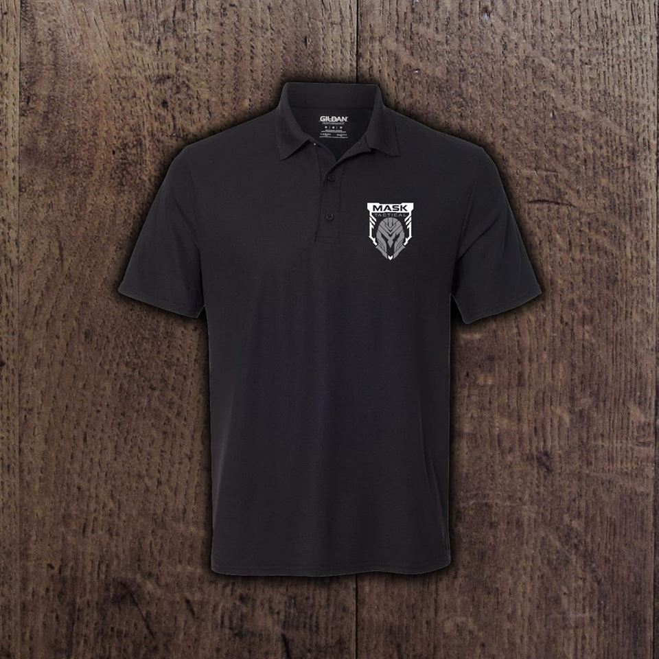 MASK Embroidered Performance Polo