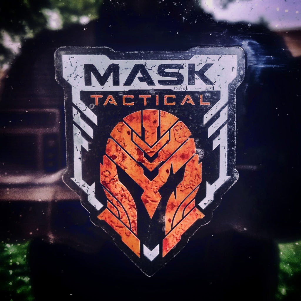 MASK Full Color Clear Stickers