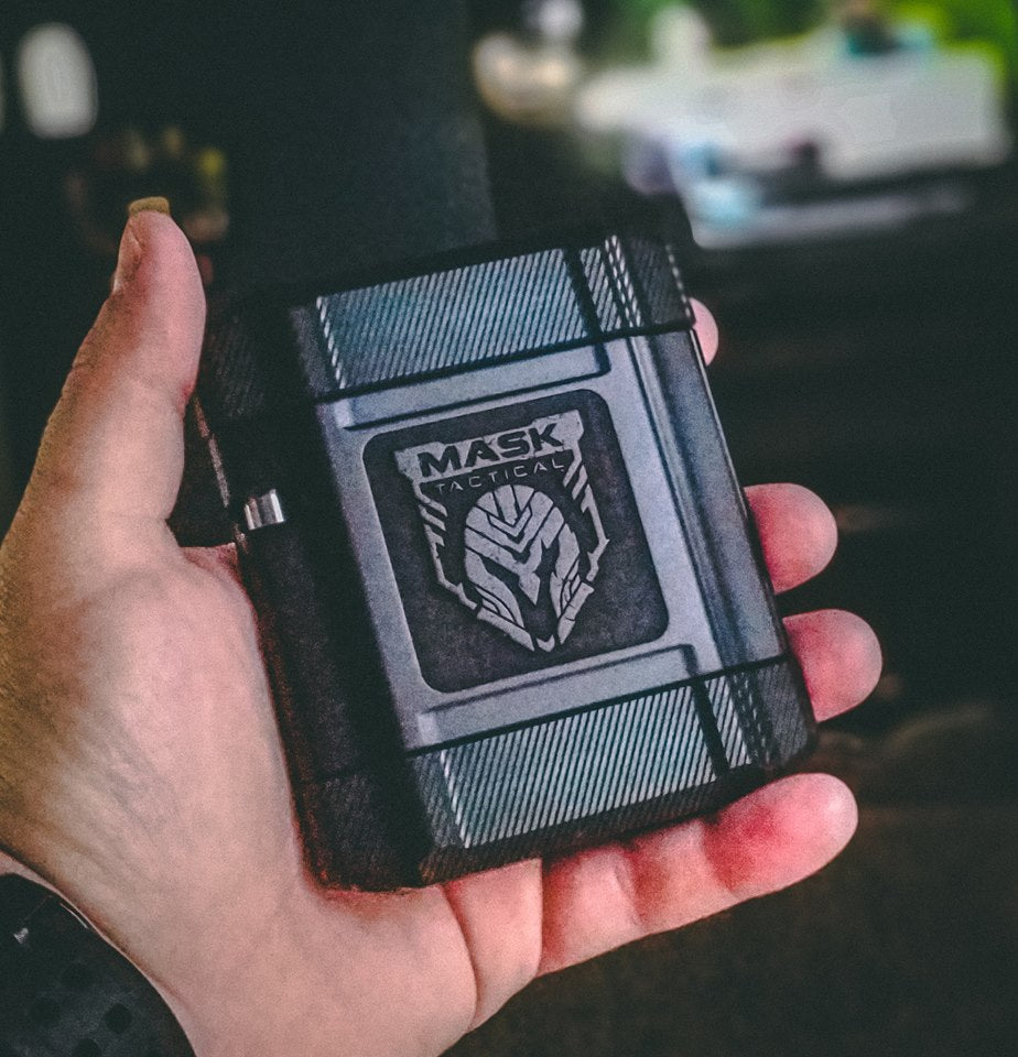 "The ""Vessel"" - Metal Wallet/Storage Container"