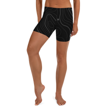 Load image into Gallery viewer, MASK Topo Women's Shorts