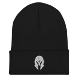 MASK Embroidered Spartan Helm Cuffed Beanie