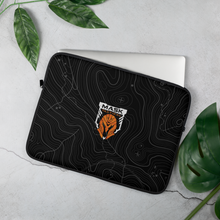 Load image into Gallery viewer, MASK Topo Padded Laptop Sleeve