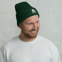 Load image into Gallery viewer, MASK Embroidered Spartan Helm Cuffed Beanie