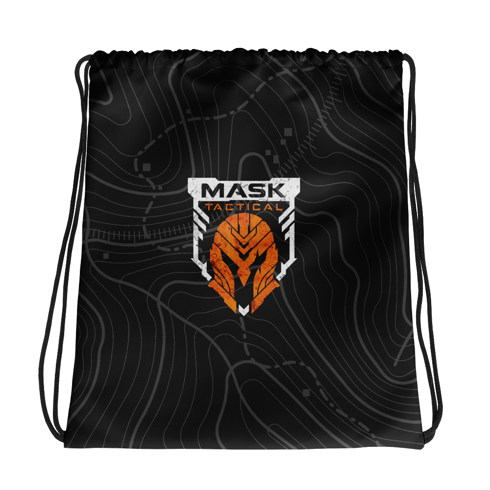 MASK Topo Drawstring EDC Gym Bag