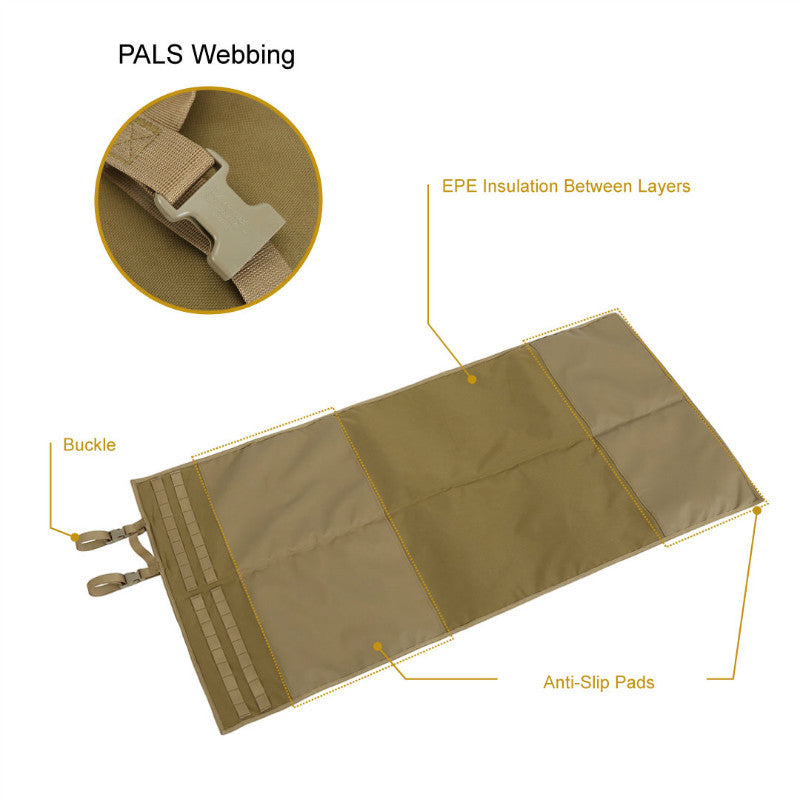 Tactical Padded Roll-Up Shooters Mat