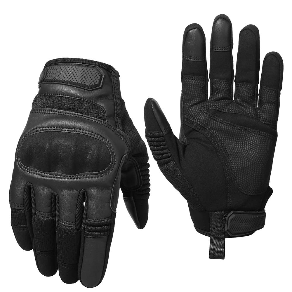 Tactical Full Finger Hard Knuckle Gloves