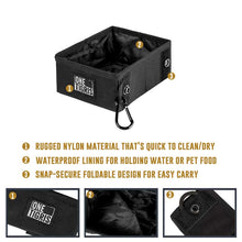 Load image into Gallery viewer, Tactical Collapsible Travel Dog Bowl