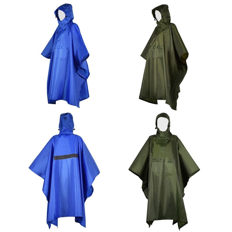 Ultralight Hooded Raincoat/Poncho