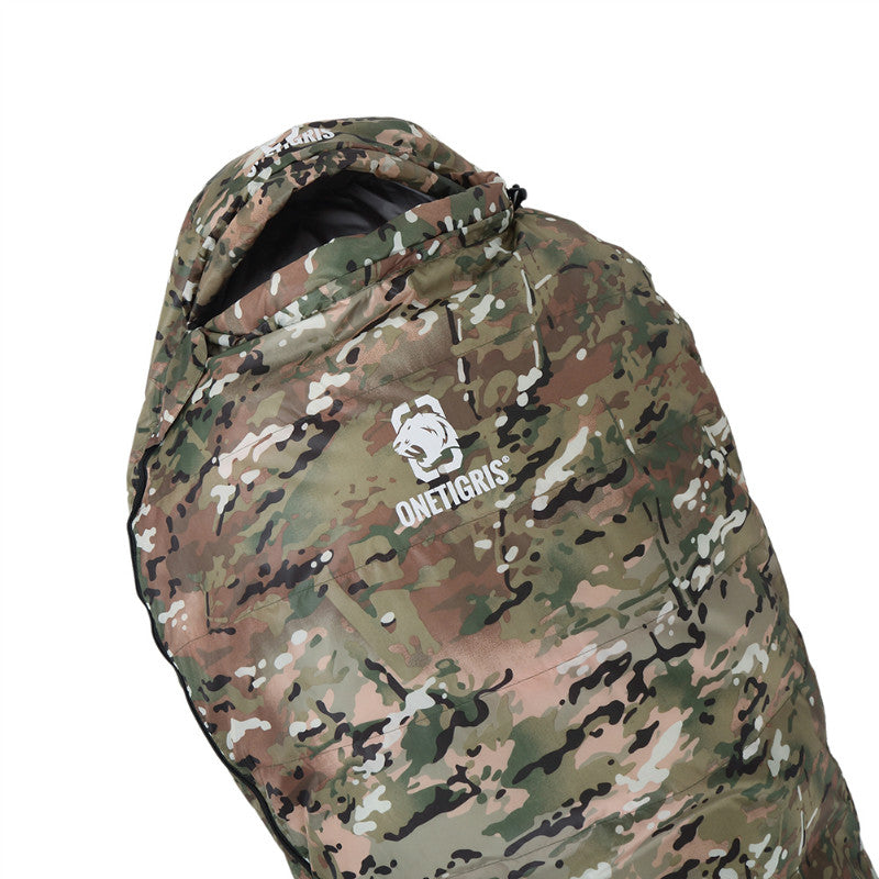 Military Camo Mummy Light Patrol Sleeping Bag