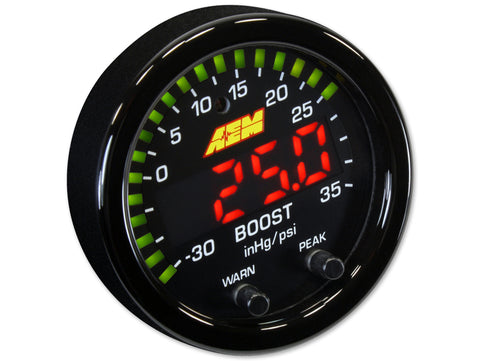 X-Series 35PSI / 2.5BAR Boost Display Gauge