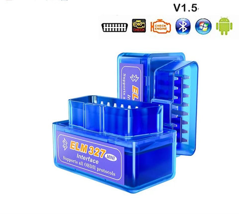 ELM327 OBD2 Bluetooth Diagnosis / Data logger / Fault Checking Tool