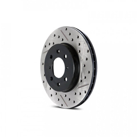 Performance Disc Brake Rotor Drilled / Slotted