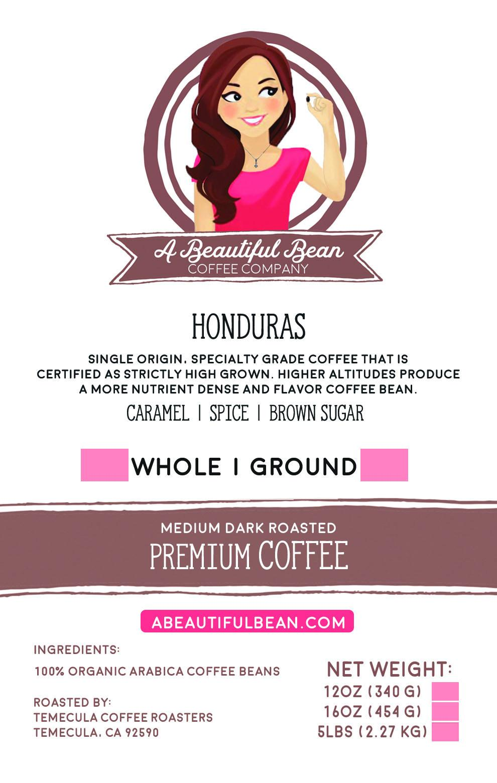 Honduras organic specialty coffee