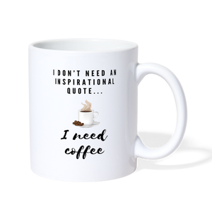 Coffee  Mug - white