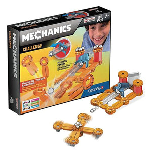 Bouwspel Geomag Mechanics Challenge (95 pcs)