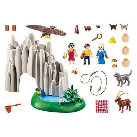 Image of Playset Heidi Playmobil 70254 (74 pcs)