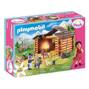 Playset Heidi Goat Stable Playmobil 70255 (47 pcs)