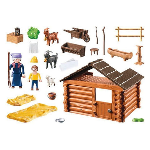 Image of Playset Heidi Goat Stable Playmobil 70255 (47 pcs)