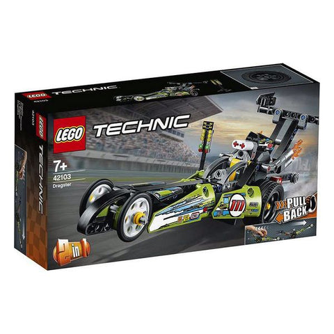 Image of Playset Technic Dragster Lego 42103