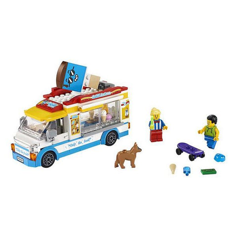 Image of Playset City Ice Cream Truck Lego 60253