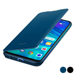 Boek Case P Smart 2019 Huawei Flip Cover Leer