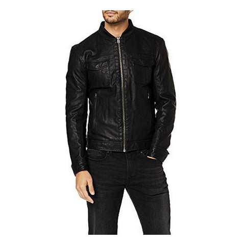 Jas Benetton 2GK653D38 Mannen Zwart Maat XL (Refurbished A+)