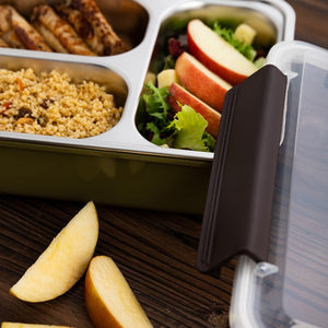 Lunchbox Quid GO XTREM Roestvrij staal (6 x 18,5 x 7 cm)