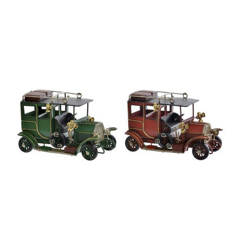 Image of Decoratieve figuren DKD Home Decor Metaal Auto (2 pcs)