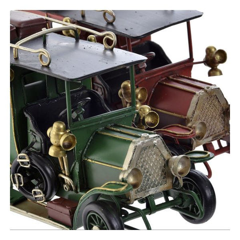 Decoratieve figuren DKD Home Decor Metaal Auto (2 pcs)