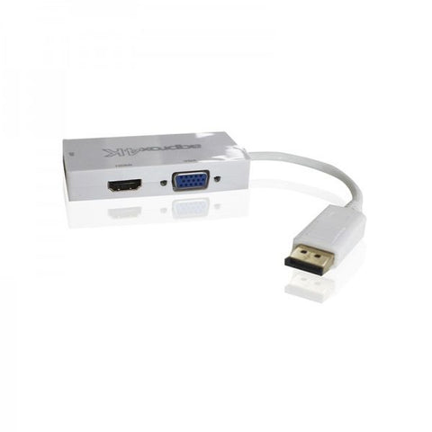 Image of Adapter DisplayPort naar HDMI approx! AISCCI0302 APPC37 DVI VGA Wit