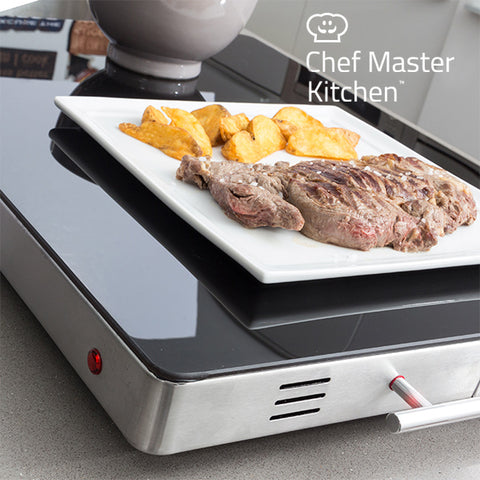 Chef Master Kitchen Warmhoudplaat 400W