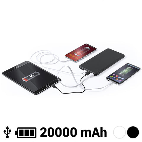 Image of Power Bank 20000 mAh USB-C Lightning Micro USB 145784